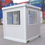 Módulo Prefabricado Vigilancia 2,50 x 2,40