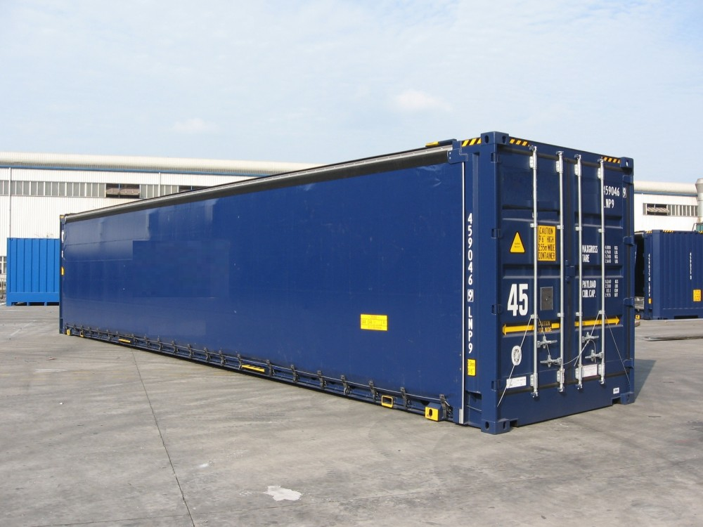 45 Box Pallet Wide con Cortina