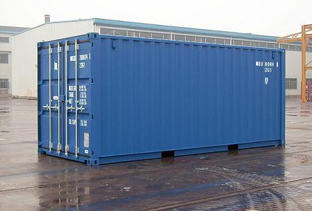 Contenedor Marítimo 20' Box Dry Van