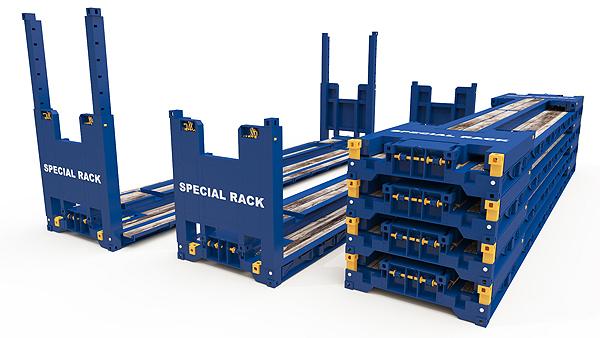 Contenedores Flat Rack Especiales