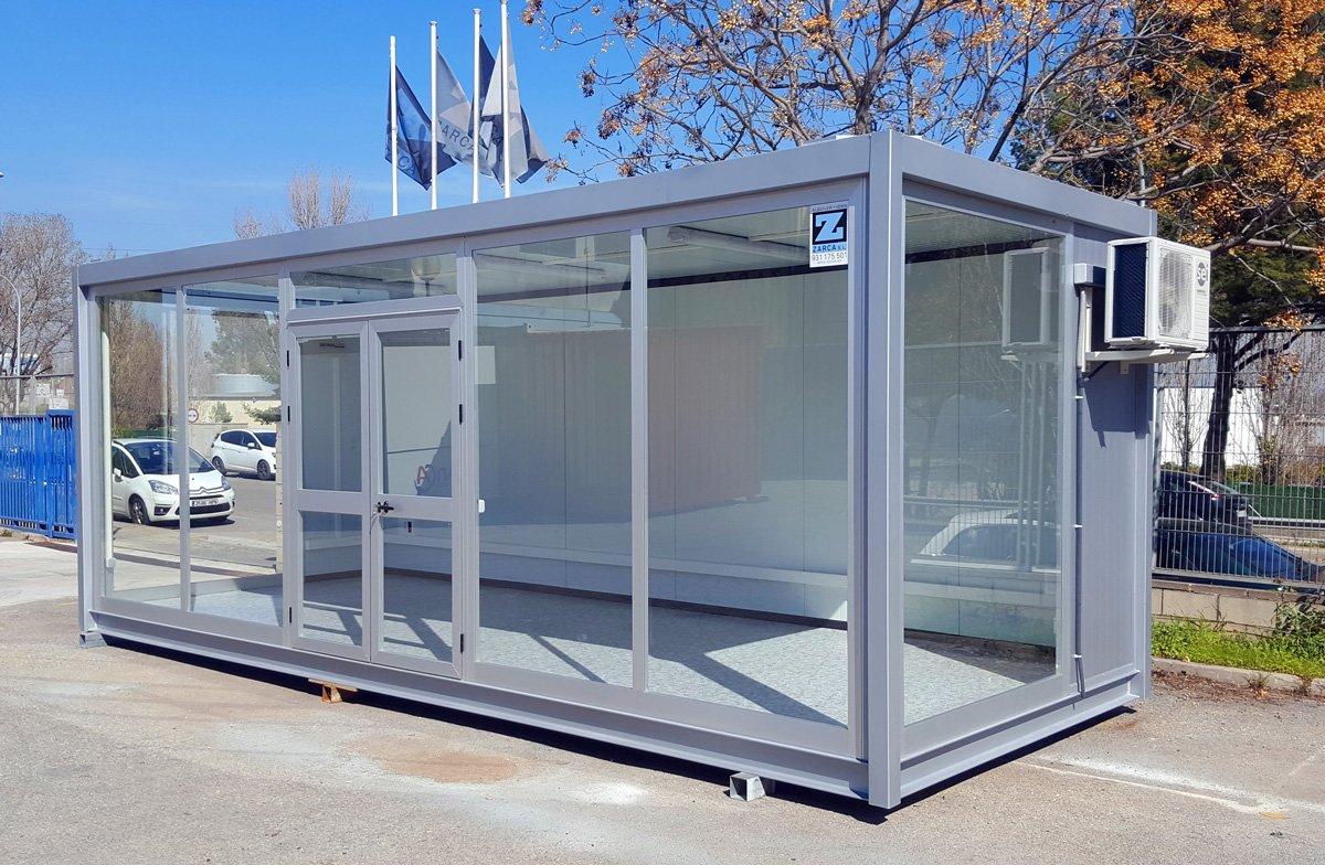 M dulos prefabricados y casetas de obra venta y alquiler for Modulos para oficina