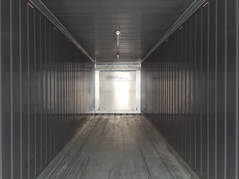 Cámara Frigorífica Portátil 12m /40' Interior