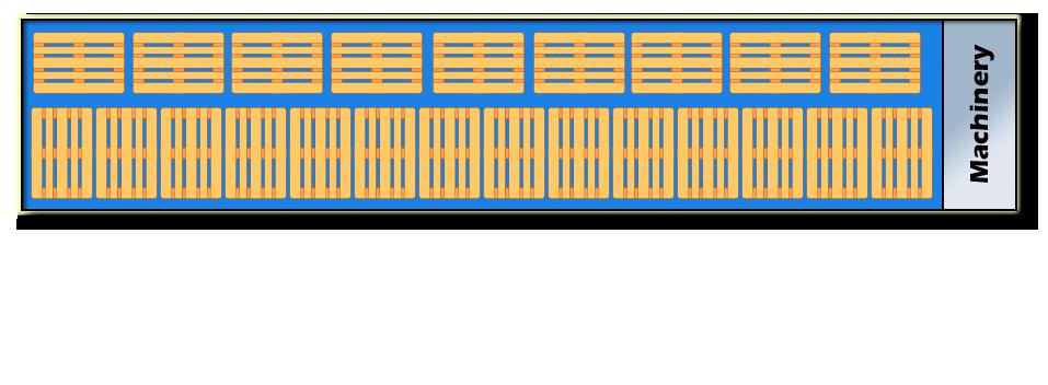 23 Europalets en planta