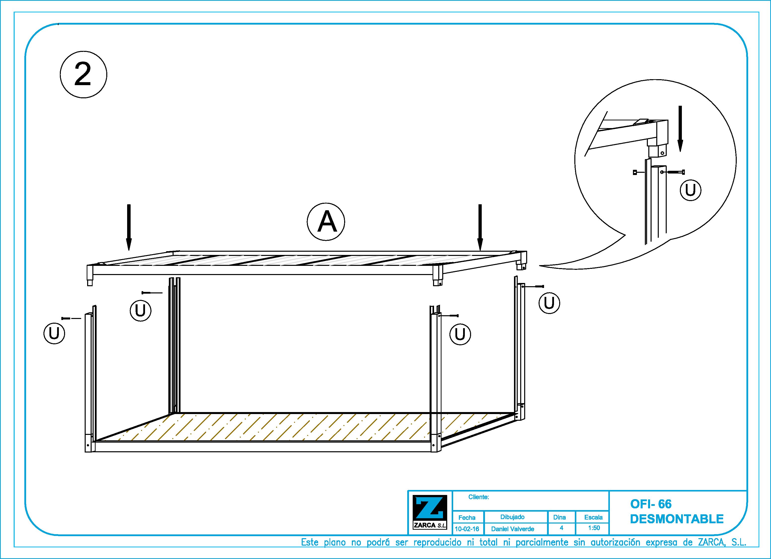 Caseta de Obra en Kit - Montaje 2