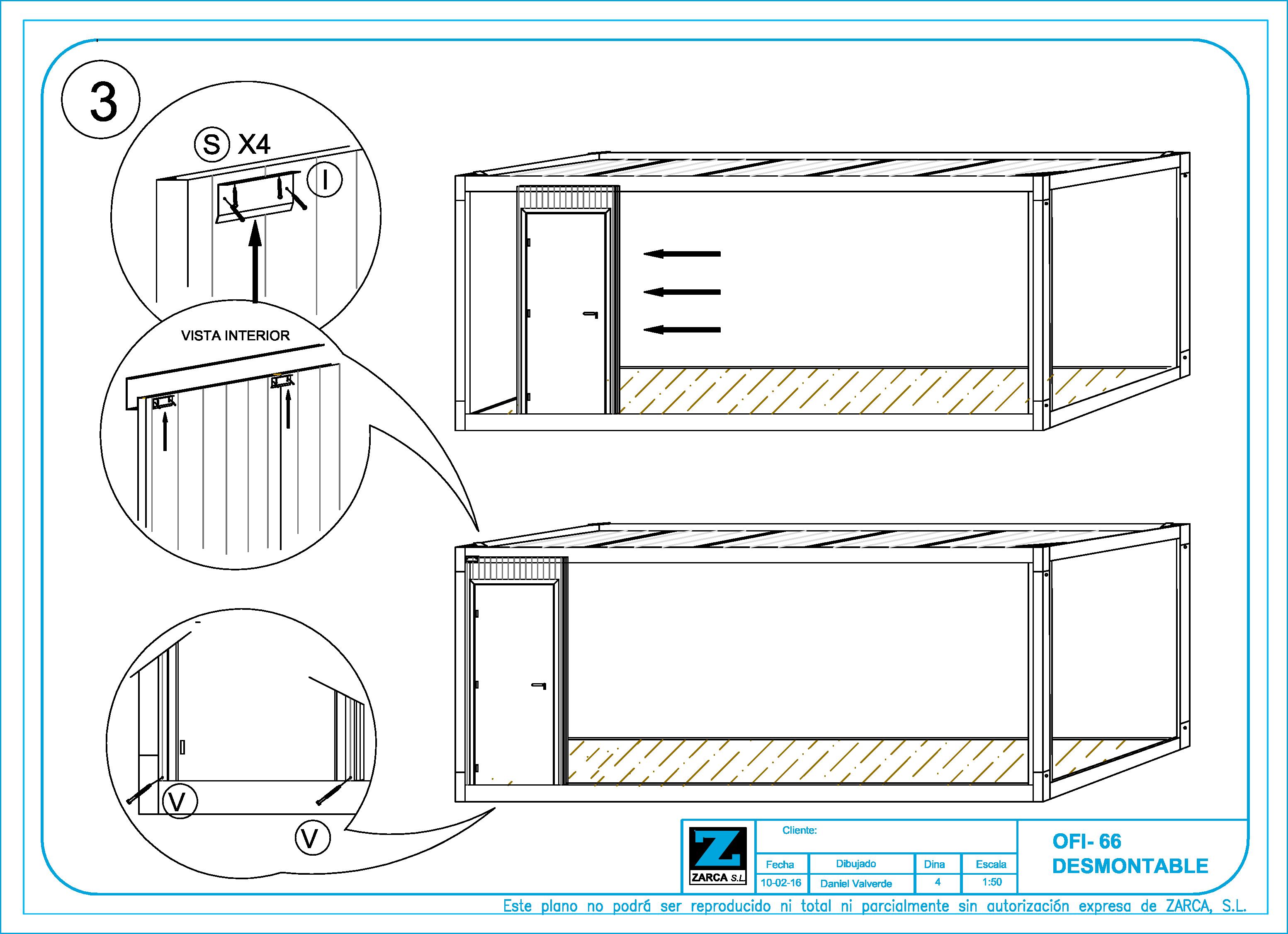 Caseta de Obra en Kit - Montaje 3