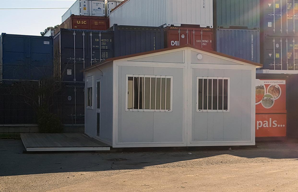 Vivienda Prefabricada - Vista Exterior Lateral