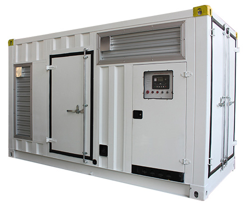 Contenedor Modificado - Generador Eléctrico