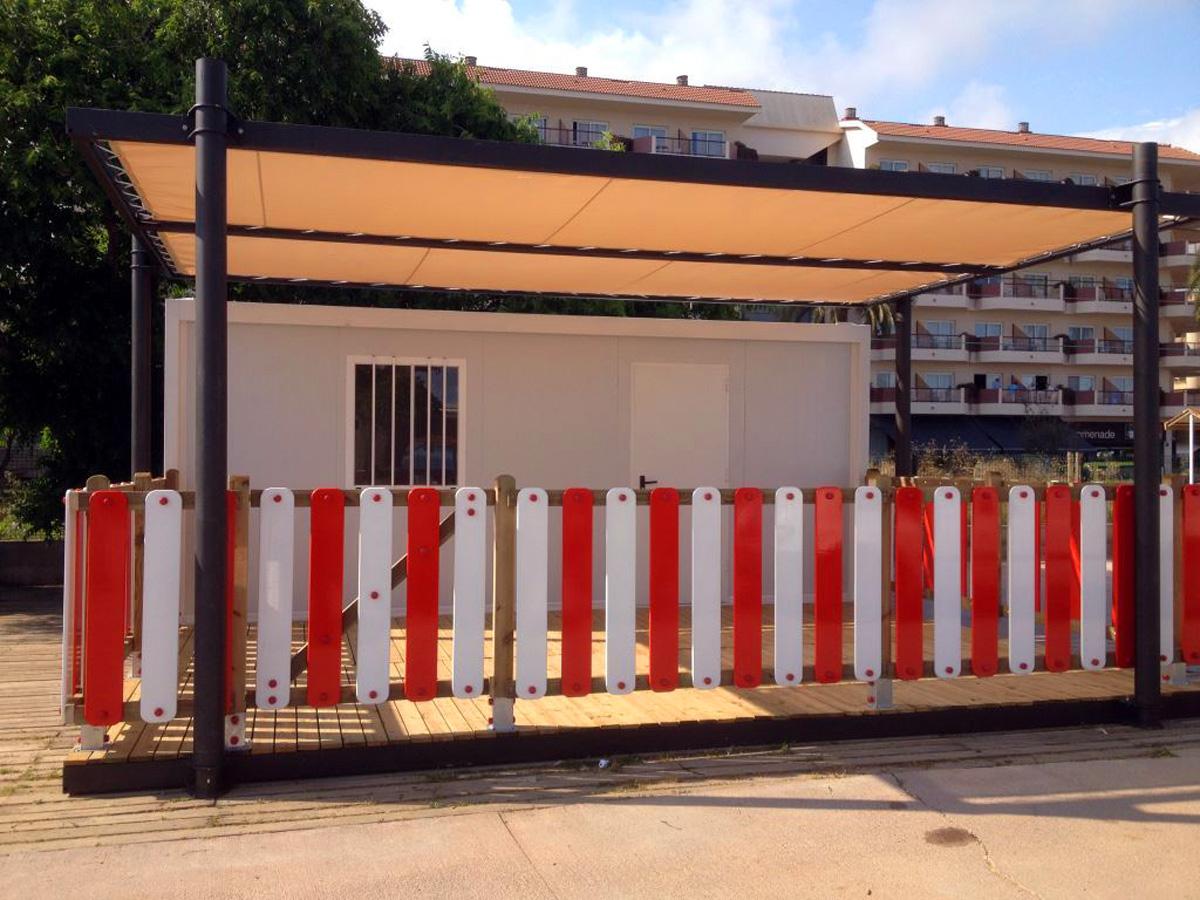 Módulo Guardería - Vista Exterior