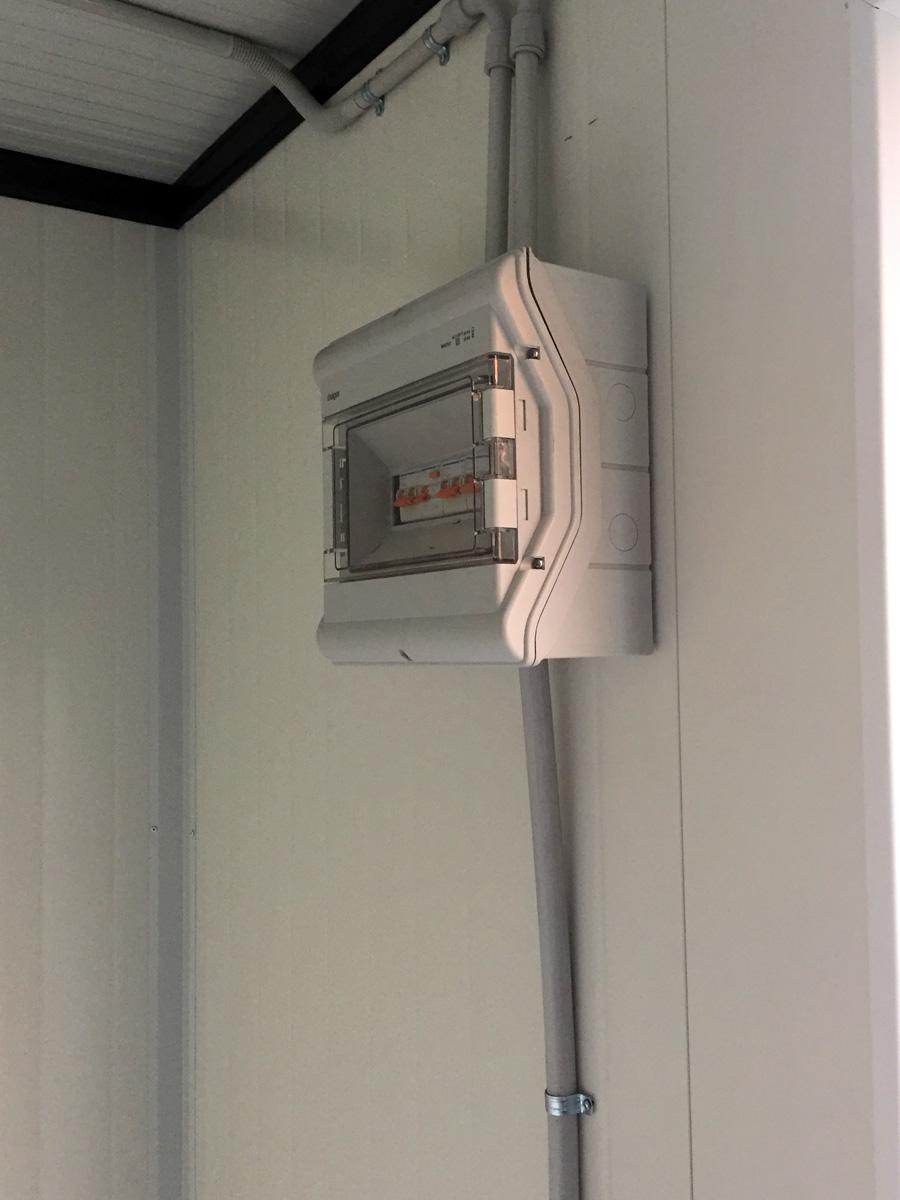 Módulo Vigilancia Socorristas - Detalle cuadro eléctrico
