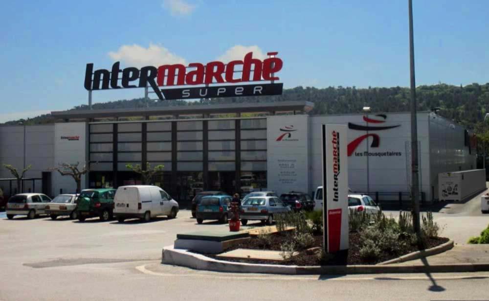 Cámara Frigorífica Portátil Auxiliar Supermercado Intermarché