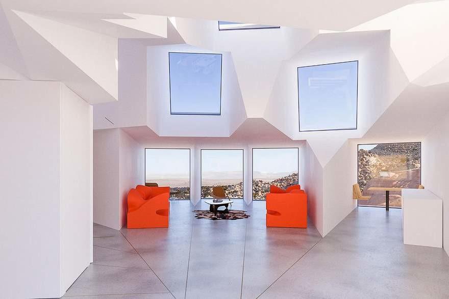 Casa Contenedores Maritimos Interior 2