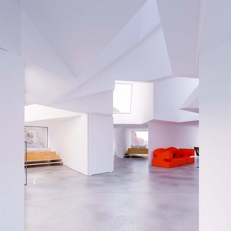 Casa Contenedores Maritimos Interior 3