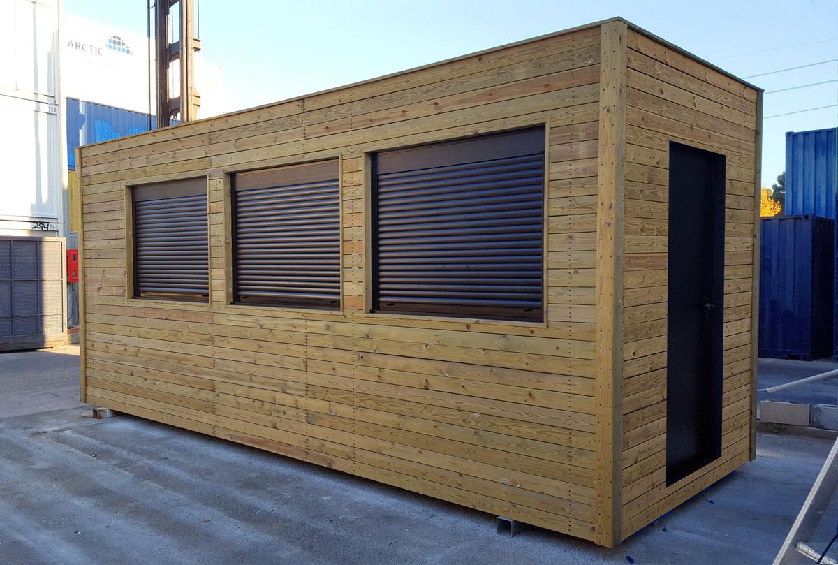 M dulo prefabricado forrado de madera zarca - Modulos prefabricados para viviendas ...