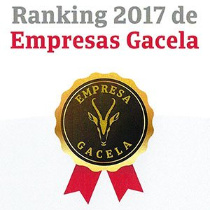 Reconocimiento Empresa Gacela ZARCA 2017