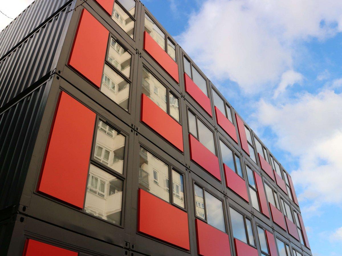 Edificio Contenedores Marítimos - Ealing 6