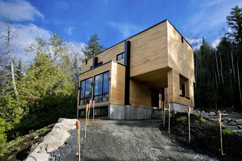 Casa lujosa contenedores marítimos - exterior