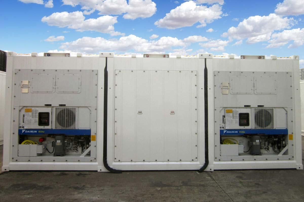 Conjunto Cámaras Frigoríficas - Exterior Motor