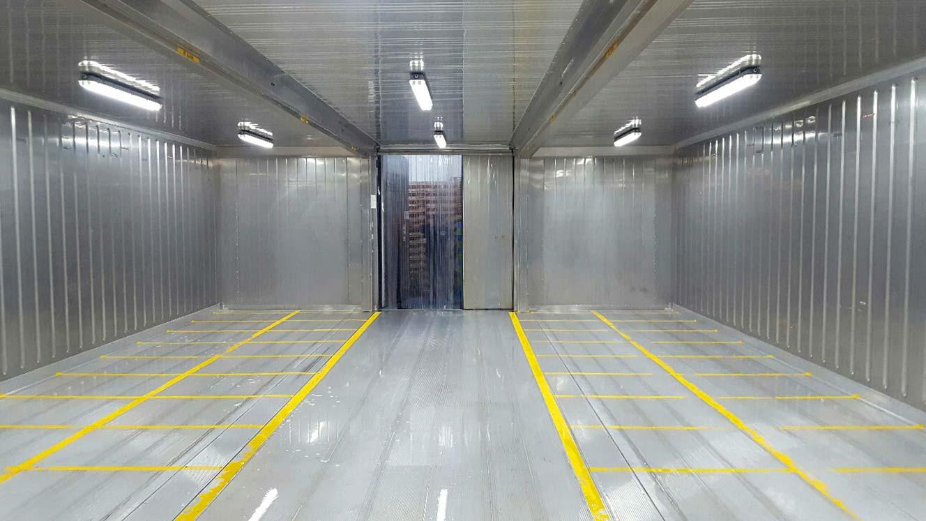 Conjunto Cámaras Frigoríficas - Interior Puerta