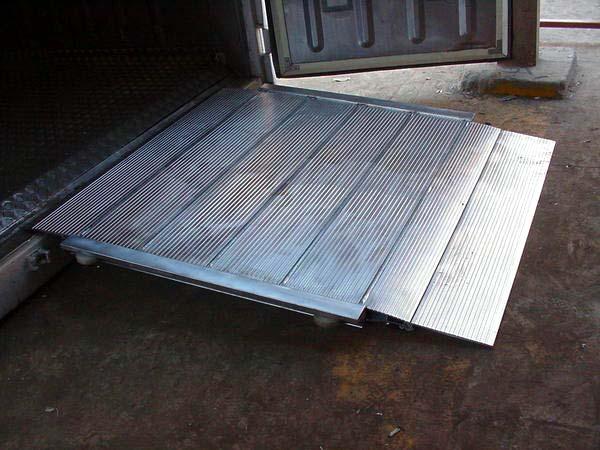 Extras opcionales - Rampa Aluminio 4000Kg