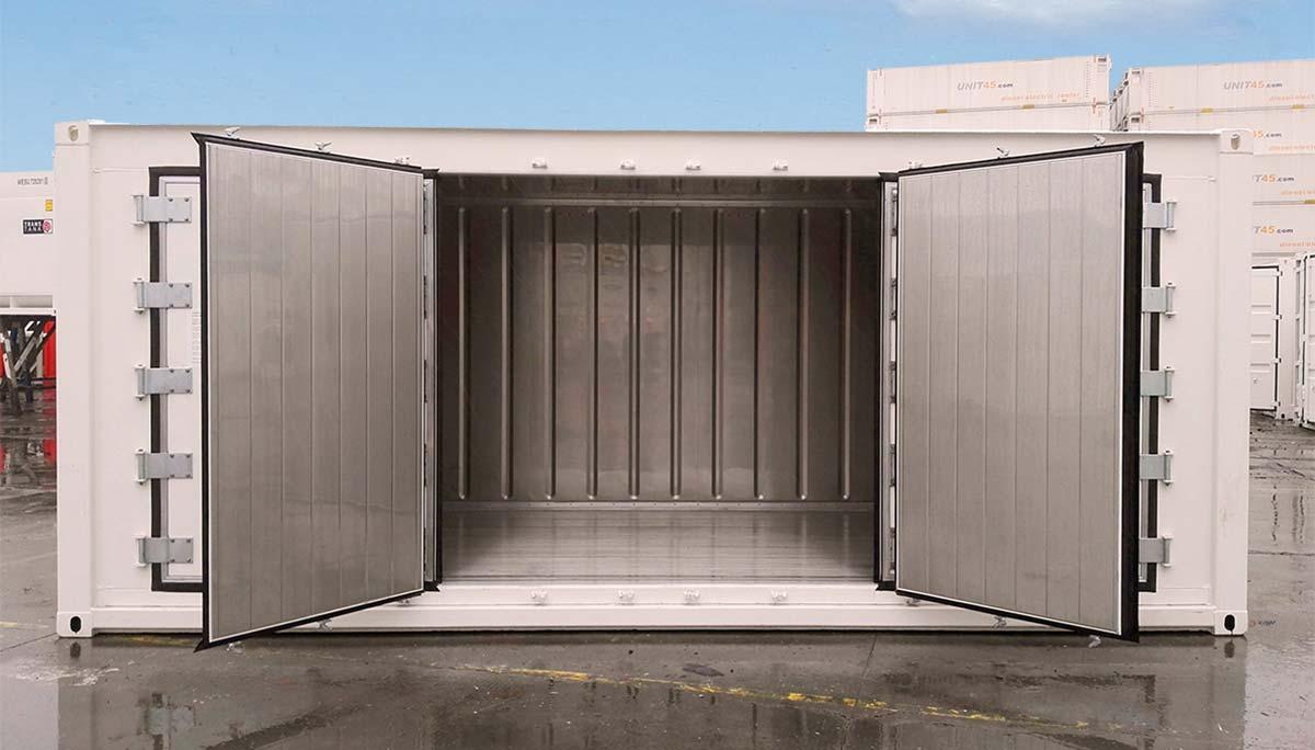 Reefer 20 OPEN-SIDE - Puerta Medio Abierta