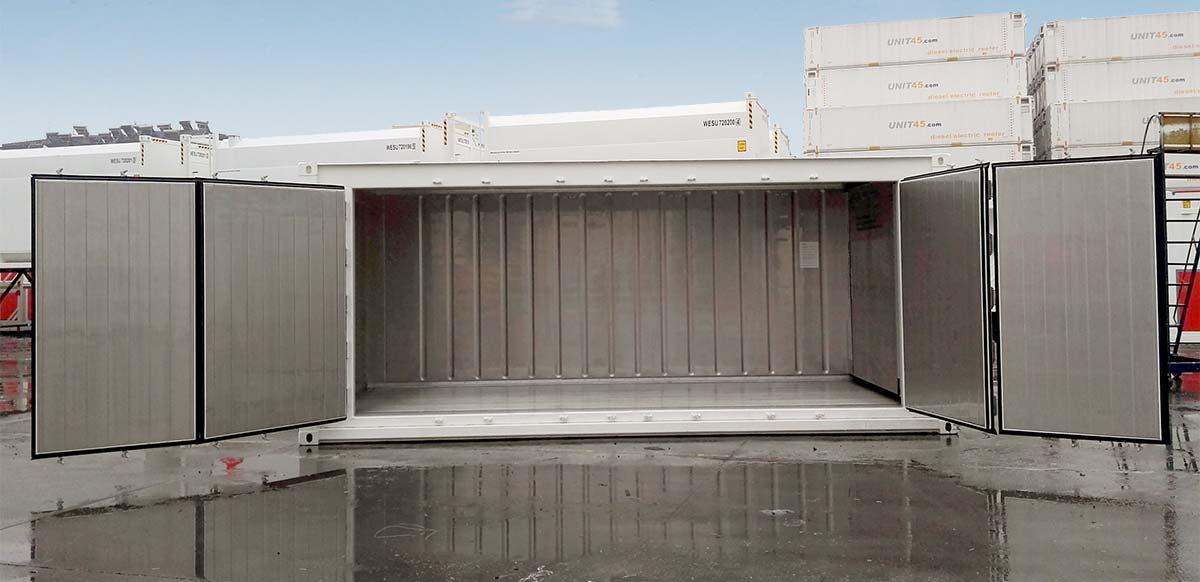 Reefer 20 OPEN-SIDE - Puerta Abierta