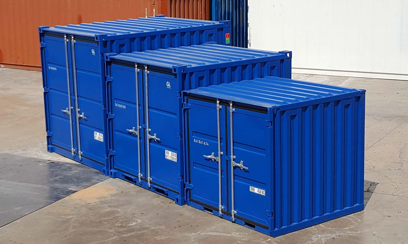 Comparación contenedores 10, 8 y 6 pies