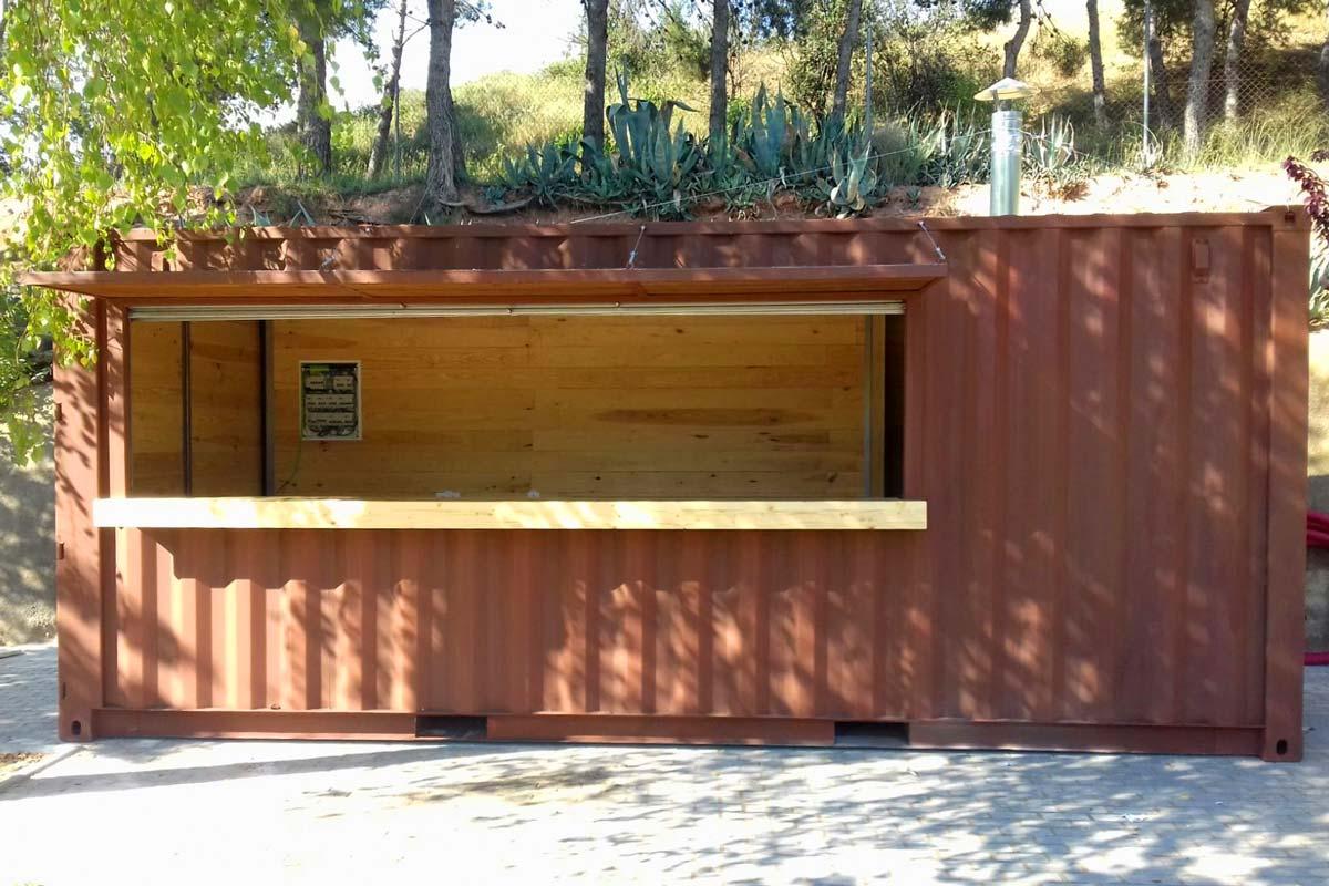 Contenedor Modificado - Bar piscina 14