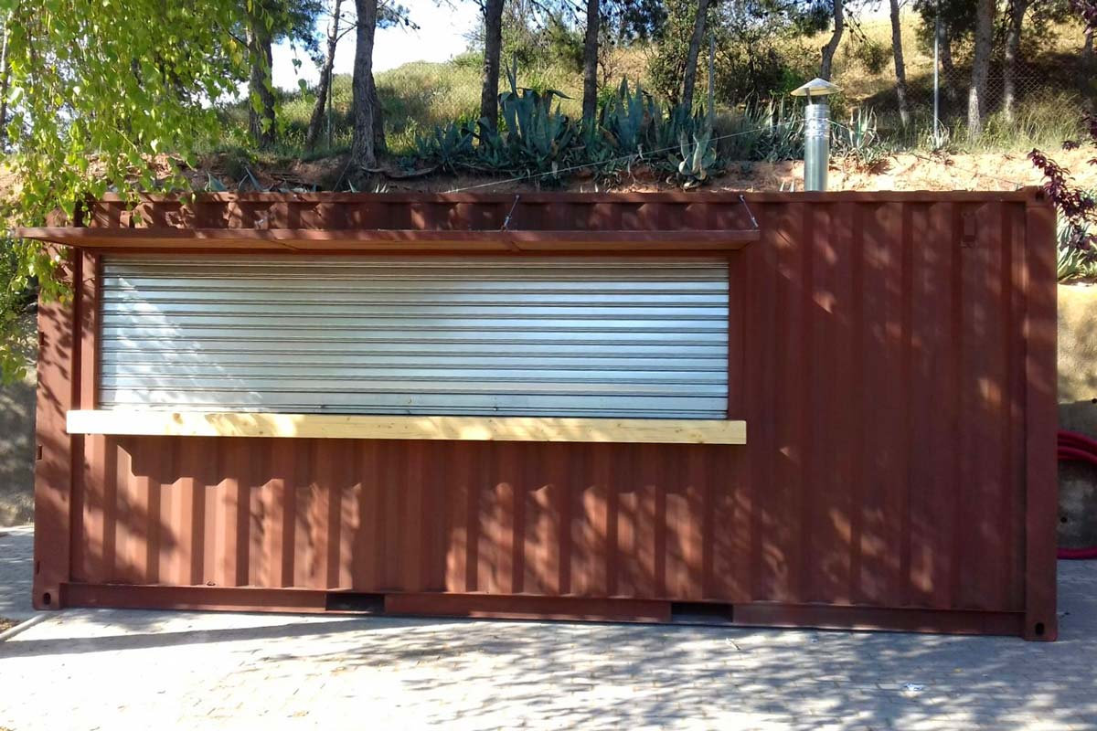 Contenedor Modificado - Bar piscina 13