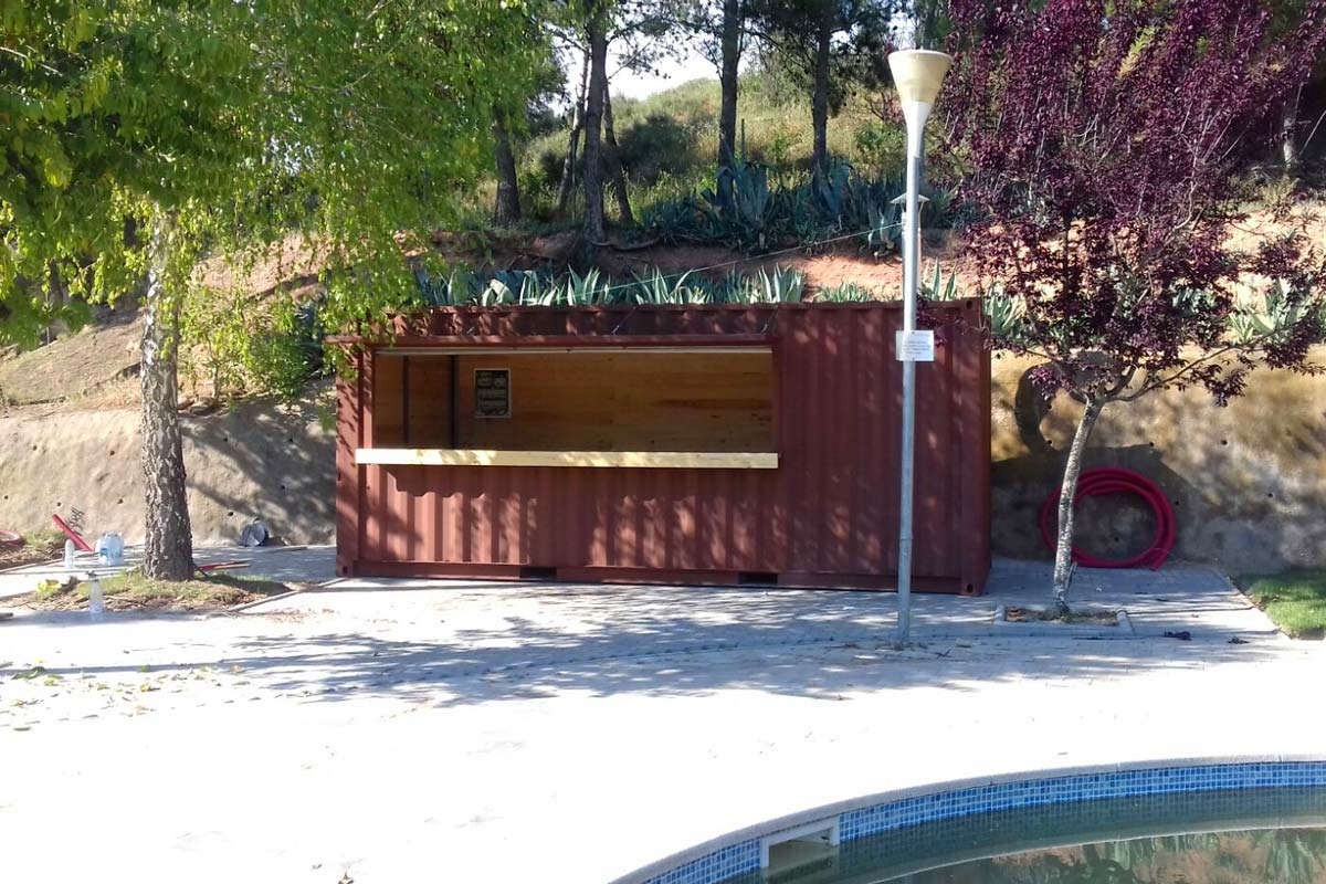 Contenedor Modificado - Bar piscina 4