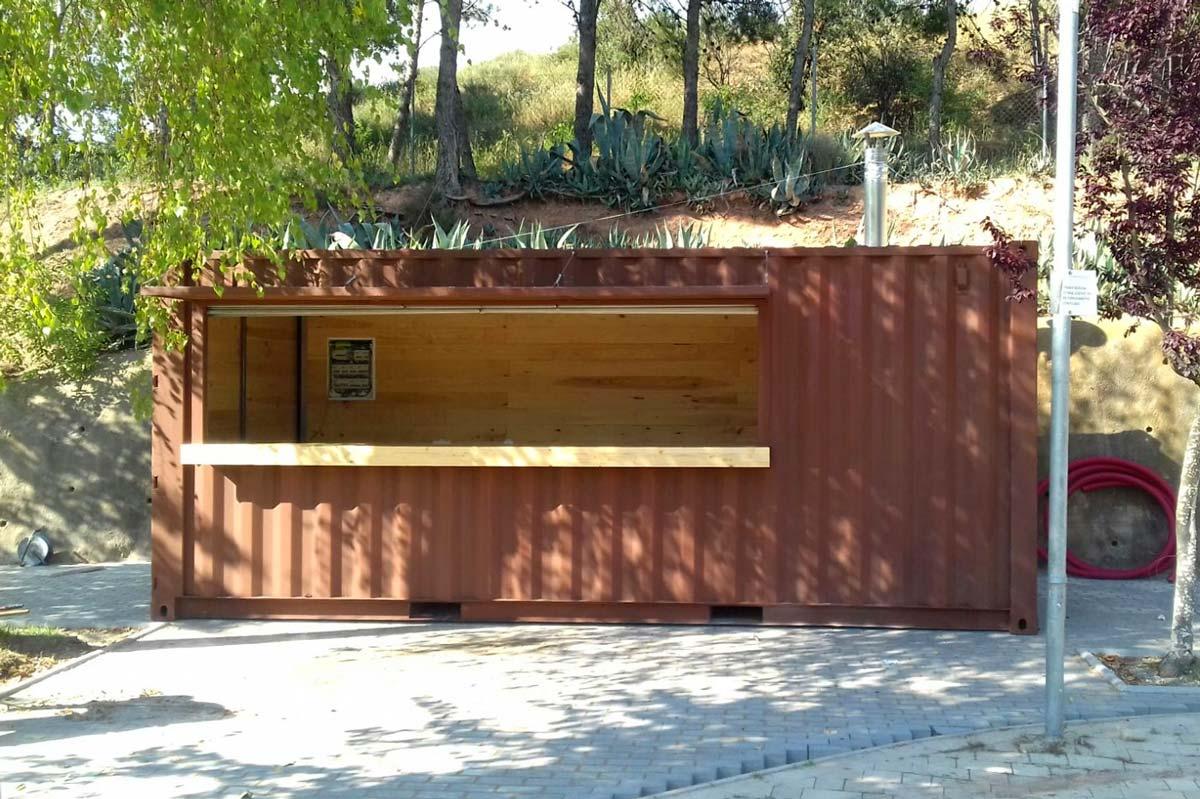 Contenedor Modificado - Bar piscina 2