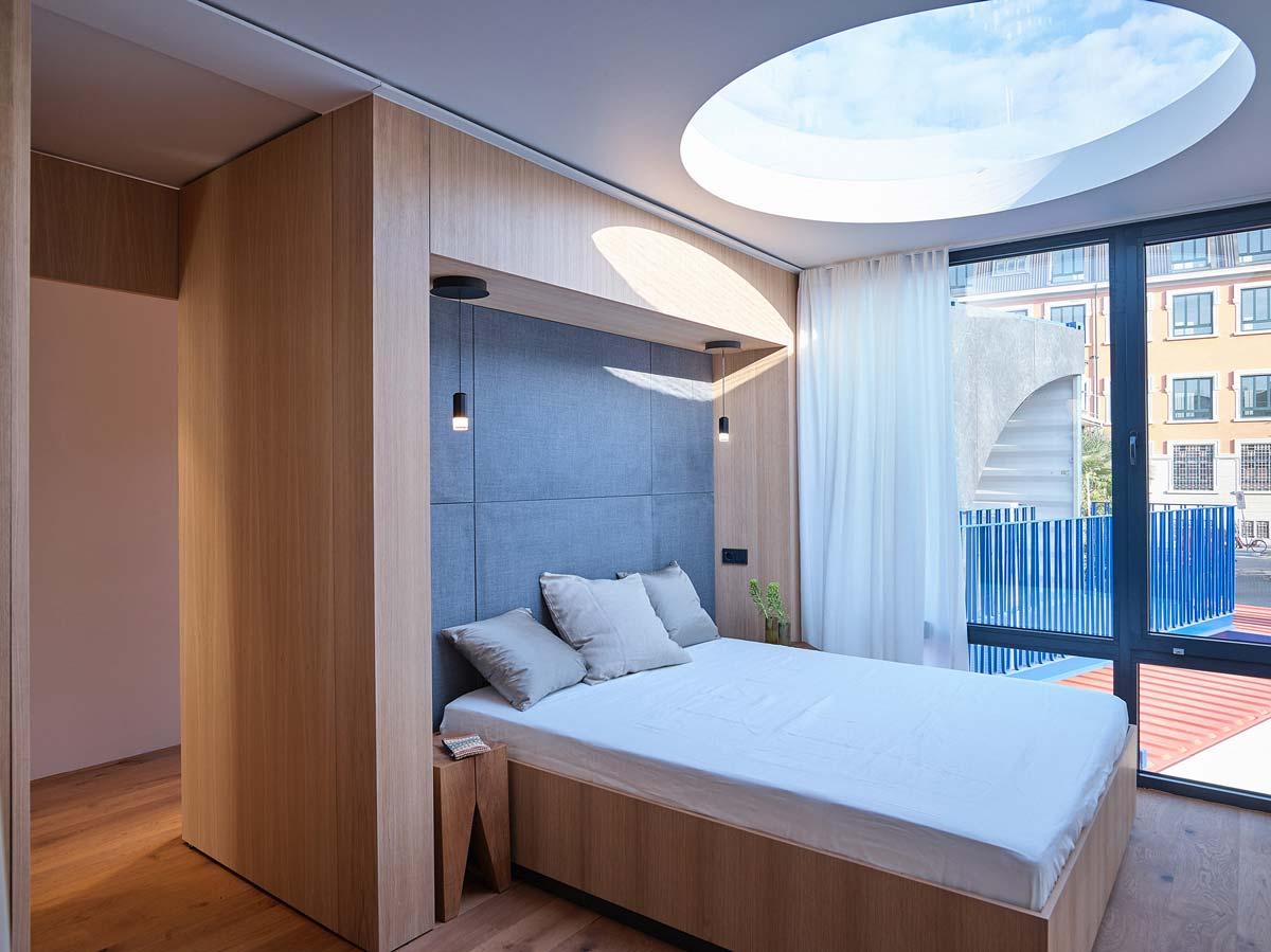 Interior vivienda contenedores marítimos