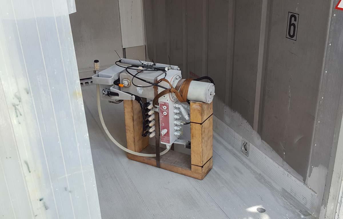 Pruebas ingeniería hidráulico frío