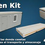 Caseta de Obra en Kit - Banner