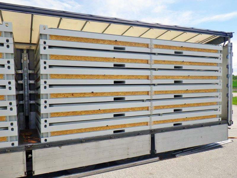 Caseta de Obra en Kit en camión
