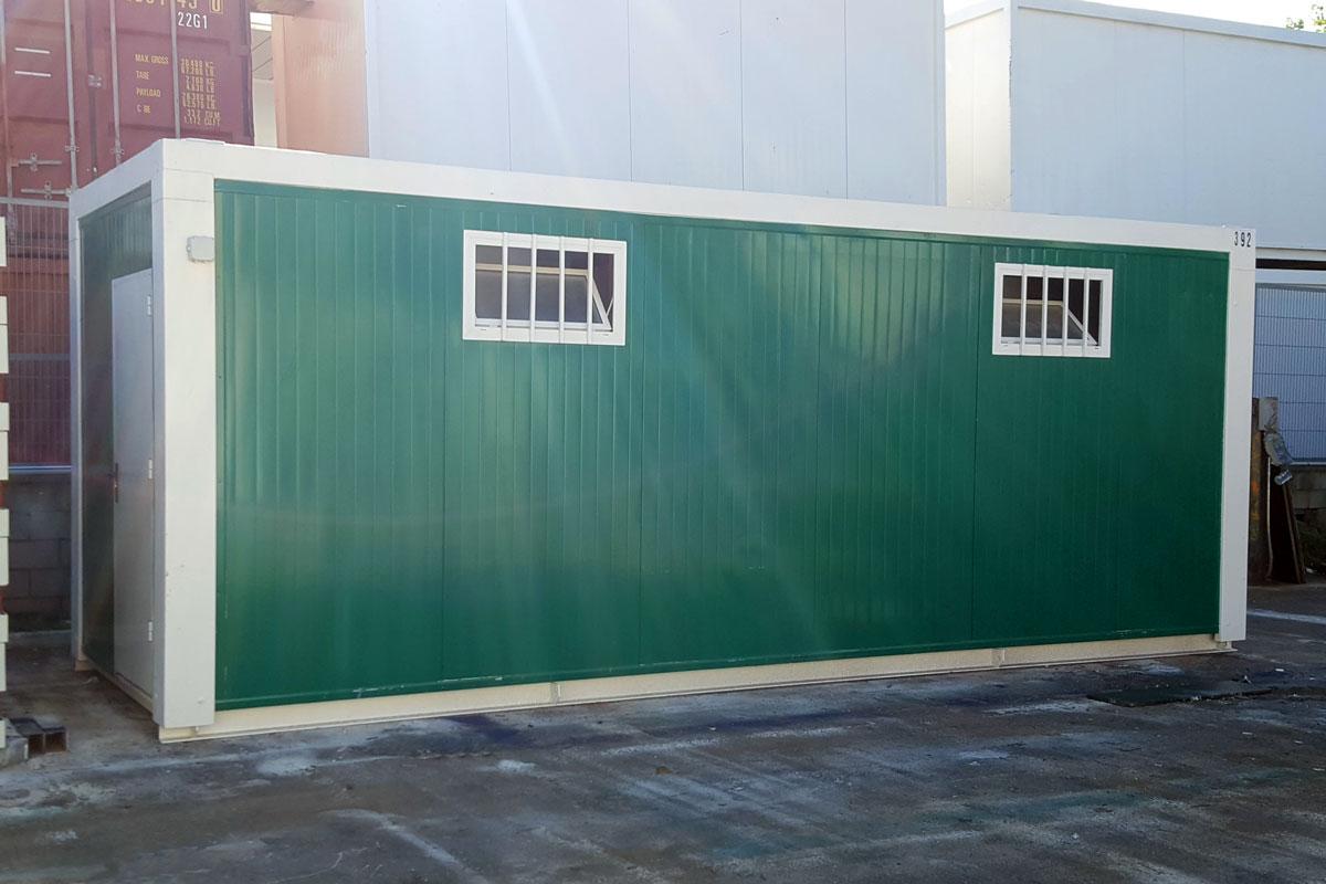 Módulo sanitario - Exterior