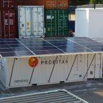 Contenedor Solar Autónomo – Energía en cualquier lugar