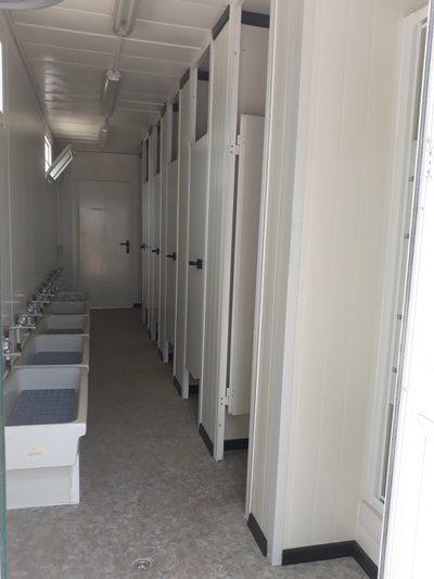 interior cabina sanitaria