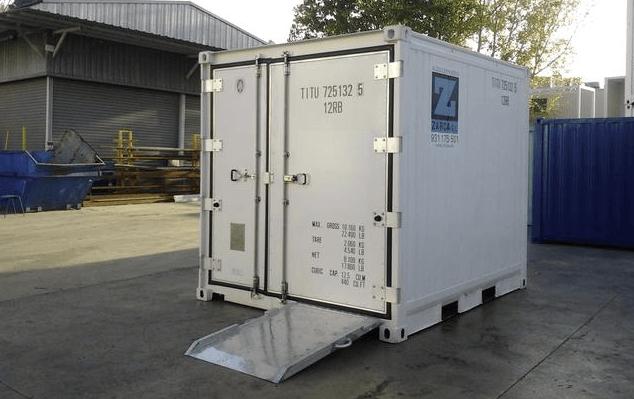 cámara frigorífica portátil para cultivo mejillón