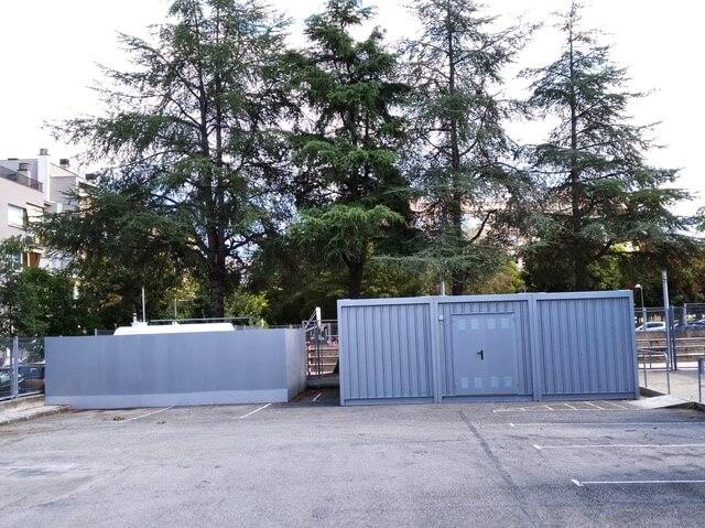 contenedor modular almacenaje