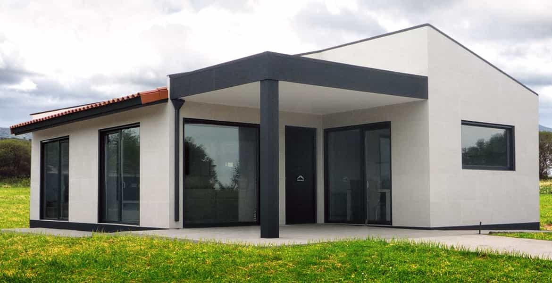 ejemplo de casa prefabricada modular