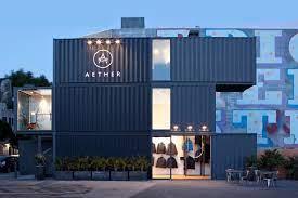 Tienda de ropa Aether - container shop