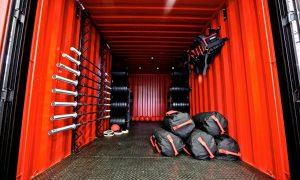 Gimnasio Hatlex en Suecia - Container gym