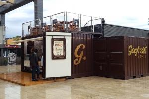 Trasnformación contenedores - Gofreria